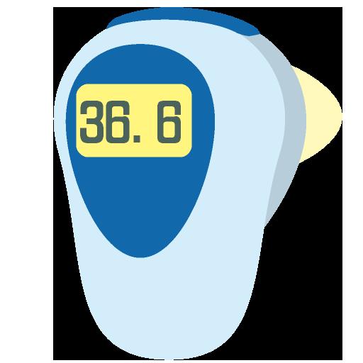 体温計のイラスト