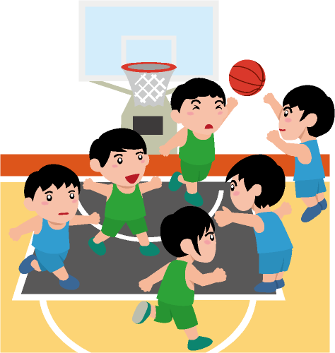 3x3バスケットボール