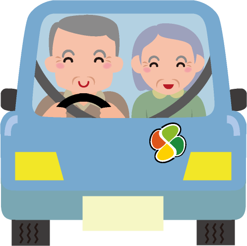 高齢ドライバーのイラスト