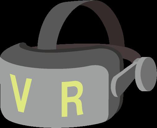 VRゴーグルのイラスト